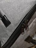 Барсетка супер молния Новый стиль мессенджер 600d для через плечо(только ОПТ), фото 8