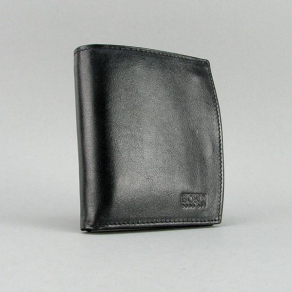 Кошелек кожаный черный Bond 851-1 Турция