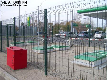 Полимерный забор 2x3 ЭКОНОМ