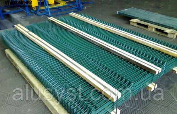 Забор металлический секционный 2х2,5 ЭКОНОМ