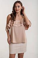 Стильная женская блуза из шелка, фото 1