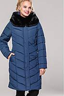 Женское зимнее классическое пальто Амаретта-3 короткая,мутон 48-64р