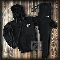 Спортивный костюм the north face черного цвета (люкс копия)