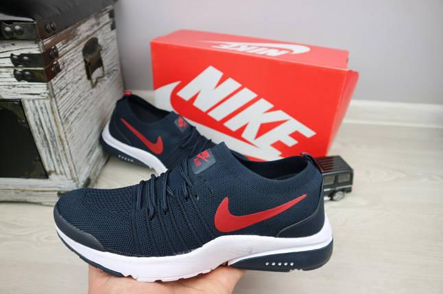6b247a1ca Кроссовки Nike Air Max мужские текстильные синие G5043-4S-M6 купить ...