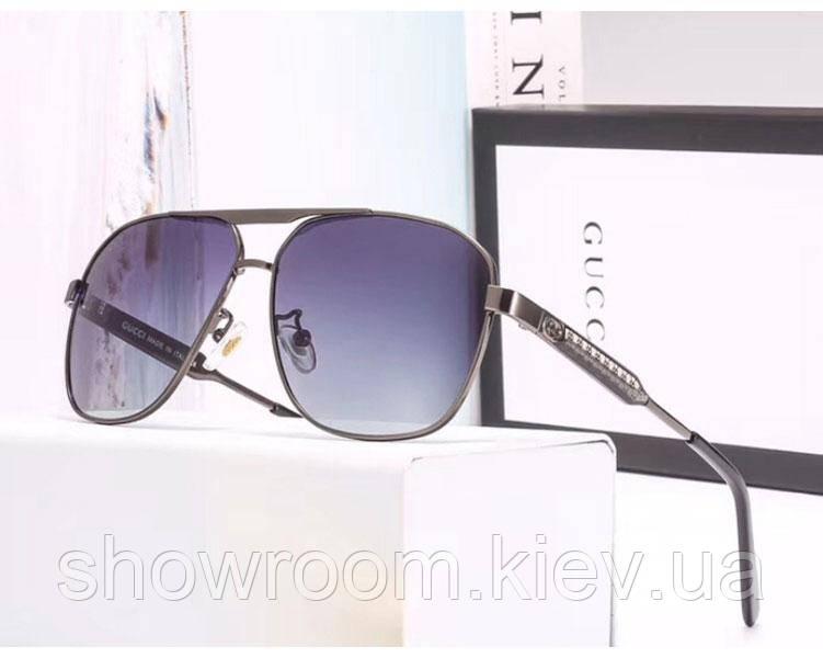 Мужские солнцезащитные очки с поляризацией в стиле Gucci (3008)