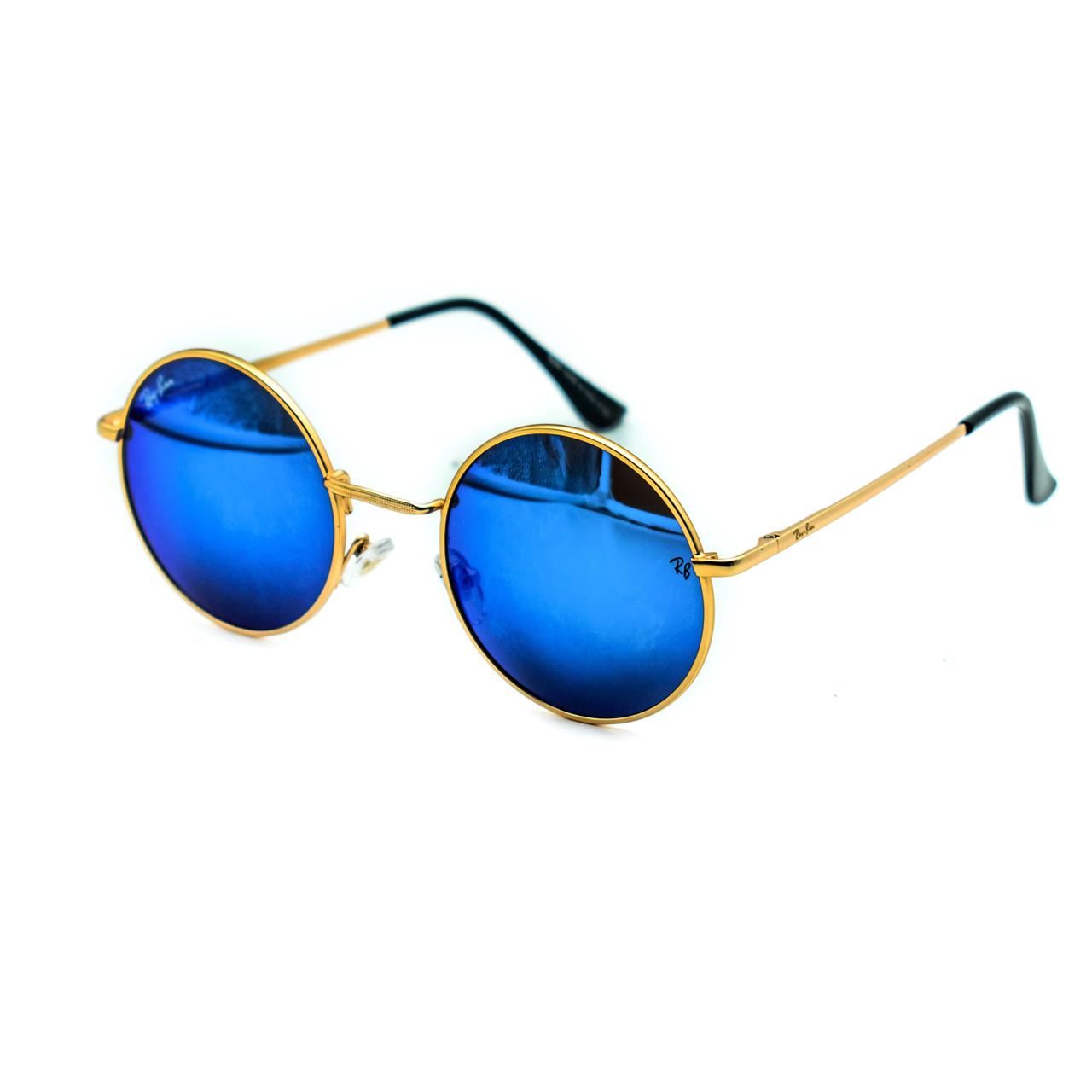Очки Ray Ban Roud blue (replica)