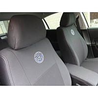 Чехлы на сидения Volkswagen Polo V sed (цельн) с 2010 г - Elegant