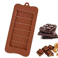 Силиконовая форма Шоколадная плитка 21х10.5 см
