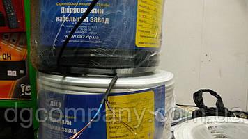 Кабель ШВВП-нг 2х0,35 Дніпровський кабельний завод,100м