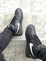 "✔️ Кроссовки Nike Air Force 1 Mid '07 LV8 ""Black""  , фото 2"