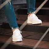 Мужские кроссовки South Classic white, замшевые белые мужские кроссовки, замшевые классические кеды, фото 5