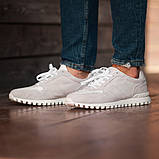 Мужские кроссовки South Classic white, замшевые белые мужские кроссовки, замшевые классические кеды, фото 3