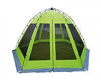 Тент-шатер-палатка полуавтомат Norfin Lund (NF-10802), Шатер кемпинговый Норфин Ланд