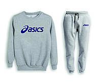 Мужской спортивный костюм, чоловічий костюм (свитшот+штаны) Asics S535, Реплика