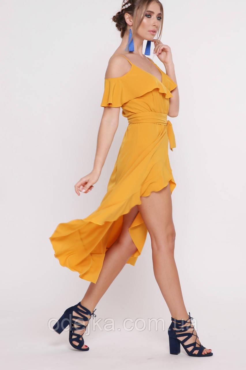 6ab270b24ef Платье летнее на запах
