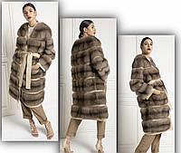 Пальто из натурального меха соболя, фото 1