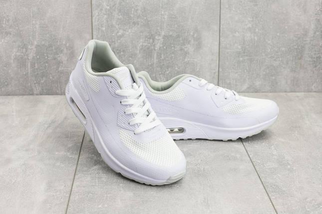 77fa537bd Кроссовки Nike Air Max мужские текстильные белые G 5082-1 купить в ...
