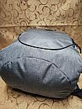 Рюкзак 2 отдела мессенджер 300D спорт спортивный городской стильный только опт, фото 5