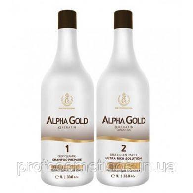 Нанопластика для волос Alpha Gold ESK Professional 2x1000 мл