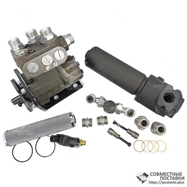 Комплект переоборудования К-700, К-701, К-702 на насос дозатор | установка дозатора вместо ГУР | переделка, фото 1