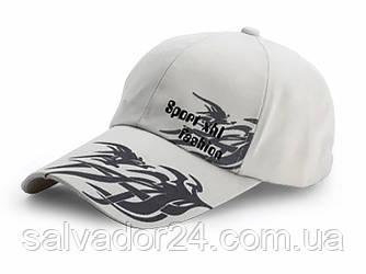 Бейсболка Sport Fashion белая, кепка