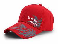 Бейсболка Sport Fashion красная, кепка