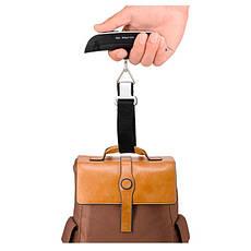Весы для багажа 50 кг. Черные, фото 3