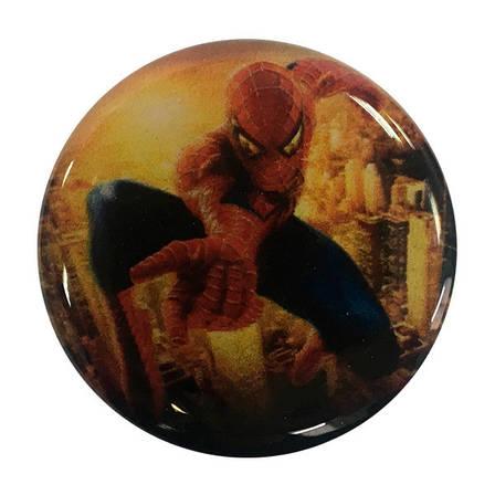 """Попсокет PopSocket 3D 3D """"Человек-паук"""" №38 - Держатель для телефона Поп Сокет в блистере с липучкой 3М, фото 2"""