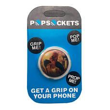 """Попсокет PopSocket 3D 3D """"Человек-паук"""" №38 - Держатель для телефона Поп Сокет в блистере с липучкой 3М, фото 3"""