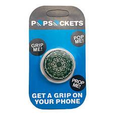 """Опт Попсокет PopSocket 3D 3D """"Мандала"""" №35 - Держатель для телефона Поп Сокет в блистере с липучкой 3М, фото 3"""