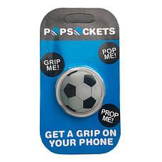 """Попсокет PopSocket 3D 3D """"Мяч"""" №32 - Держатель для телефона Поп Сокет в блистере с липучкой 3М, фото 3"""
