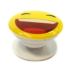 """Попсокет PopSocket 3D """"Смайлик"""" №29 - Держатель для телефона Поп Сокет в блистере с липучкой 3М, фото 2"""