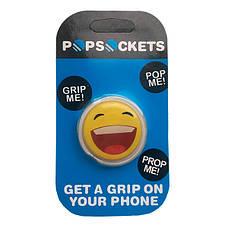 """Попсокет PopSocket 3D """"Смайлик"""" №29 - Держатель для телефона Поп Сокет в блистере с липучкой 3М, фото 3"""