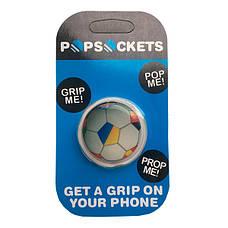 """Попсокет PopSocket 3D """"Мяч"""" №21 - Держатель для телефона Поп Сокет в блистере с липучкой 3М, фото 3"""