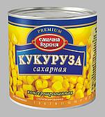 Кукуруза сахарная консервированная ТМ Смачна кухня,430 г