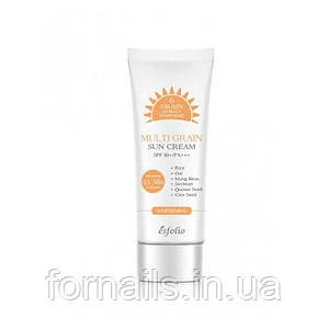 Солнцезащитный крем с рисовым экстрактом Esfolio Multi Grain Sun Cream SPF 50+/PA+++, 50 г