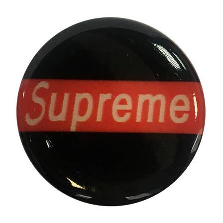 """Попсокет PopSocket 3D """"Supreme"""" №12 - Держатель для телефона Поп Сокет в блистере с липучкой 3М, фото 2"""