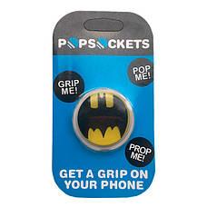 """Попсокет PopSocket 3D """"Бэтмен"""" №11 - Держатель для телефона Поп Сокет в блистере с липучкой 3М, фото 3"""