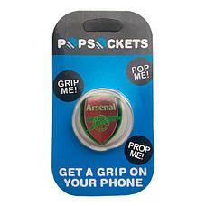"""Попсокет PopSocket 3D """"Arsenal"""" №10 - Держатель для телефона Поп Сокет в блистере с липучкой 3М, фото 3"""