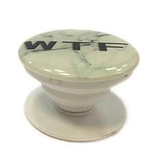 """Попсокет PopSocket 3D """"WTF"""" №8 - Держатель для телефона Поп Сокет в блистере с липучкой 3М, фото 2"""