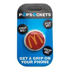 """Попсокет PopSocket 3D """"МакДональдз"""" №1 - Держатель для телефона Поп Сокет в блистере с липучкой 3М, фото 3"""