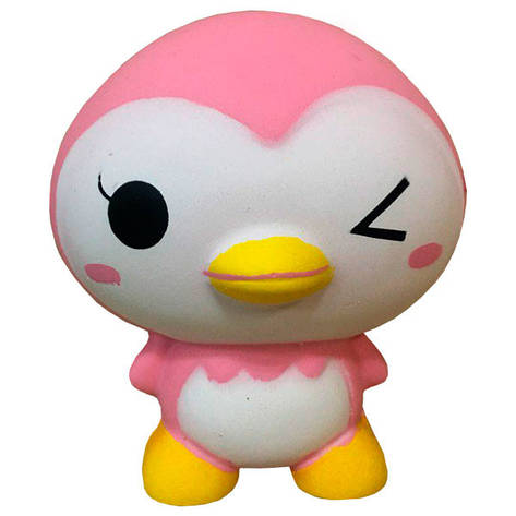 Мягкая игрушка антистресс Сквиши Пингвин Squishy  с запахом №47, фото 2