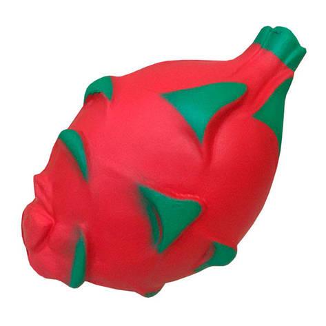 Мягкая игрушка антистресс Сквиши Питайя (Драконий фрукт) Squishy  с запахом №43, фото 2
