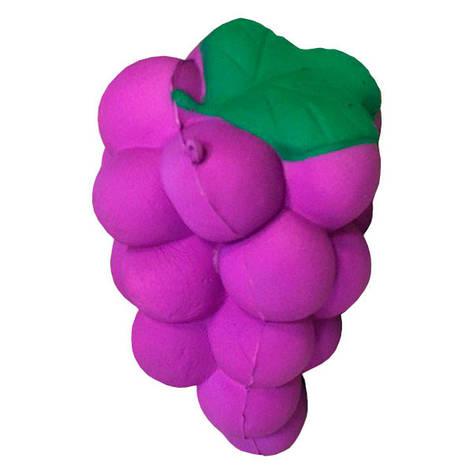 Опт Мягкая игрушка антистресс Сквиши Squishy гроздь винограда с запахом №25, фото 2