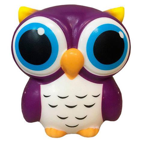 Мягкая игрушка антистресс Сквиши Squishy Сова с запахом №33, фото 2