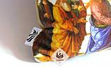 Эксклюзивная декоративная подушка для дома / интерьера церкви с библейским сюжетом Вручение ключей Св. Петру, фото 3