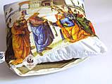 Эксклюзивная декоративная подушка для дома / интерьера церкви с библейским сюжетом Вручение ключей Св. Петру, фото 5