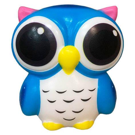 Мягкая игрушка антистресс Сквиши Squishy Сова с запахом №31, фото 2