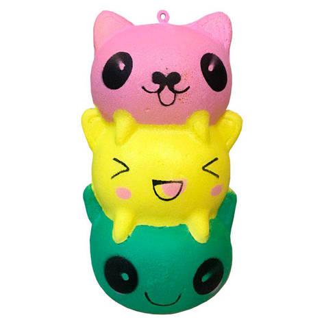 Мягкая игрушка антистресс Сквиши Котики Squishy с запахом №48, фото 2