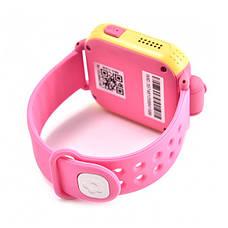 Детские часы с GPS SMART BABY WATCH Q200 Розовые, фото 3